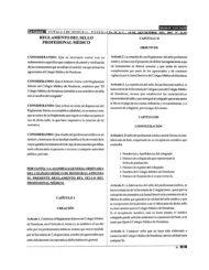 reglamento del sello profecional médico - Poder Judicial