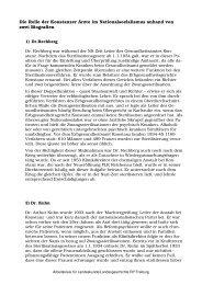 Die Rolle der Konstanzer Ärzte im Nationalsozialismus anhand von ...