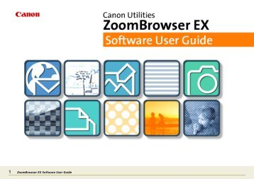 ZoomBrowser EX Software User Guide