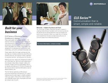 CLS brochure