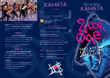 02/11/2013 DANCE WORKSHOP & INTERNATIONAL ... - Kamata