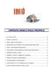 IMPOSTA MUNICIPALE PROPRIA - Comune di Villorba