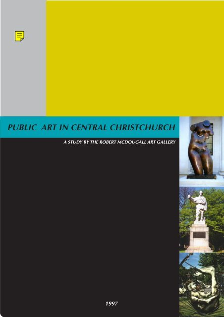 Public Art In Central Christchurch - Christchurch Art Gallery