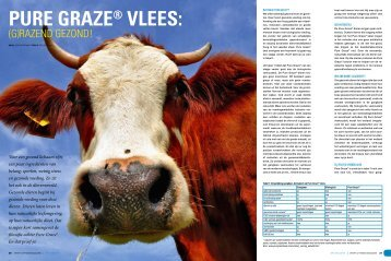 PURE GRAZE® VLEES: - Muscle Motion