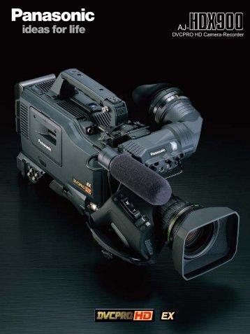 AJ-HDX900 Brochure - Panavision