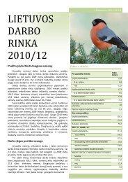 LIETUVOS DARBO RINKA 2010-12a.pdf - Lietuvos darbo birža