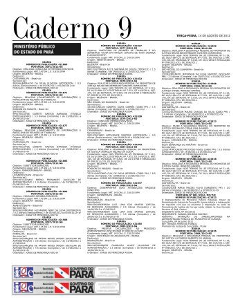 CADERNO 9 1 TERÇA-FEIRA, 14 DE AGOSTO DE 2012 Caderno 9 ...