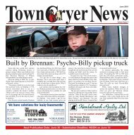 June 10 - TownCryer News