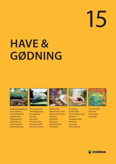 HAVE & GØDNING - C. Flauenskjold A/S