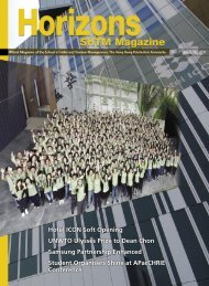 Vol 11 Issue 2, September 2011 - School of Hotel & Tourism ...