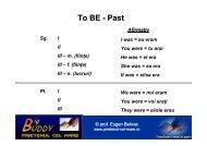 To BE - Past - PRIETENUL cel Mare – Big BUDDY