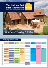What's on? Sunday 17th May - Buildstore