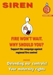 Summer 2005 - Fire Brigades Union