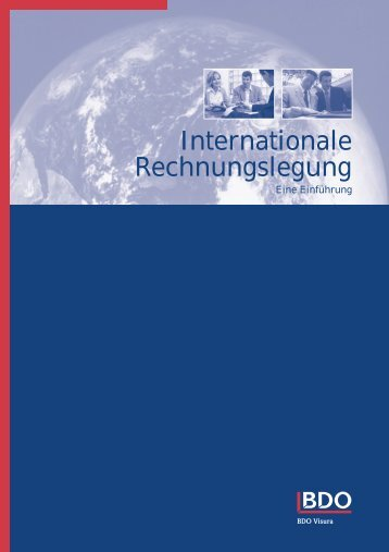Internationale Rechnungslegung - Dr. Glanz & Partner