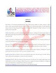 pancapdeclaration finaloffinals - PANCAP- Pan Caribbean ...