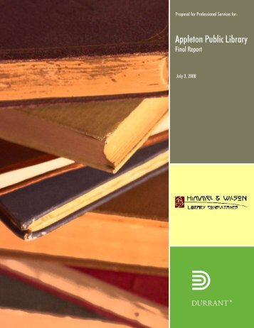 Site Selection - Appleton Public Library