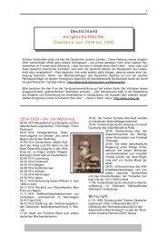 Deutschland ein geschichtlicher Überblick von 1919 bis 1941 - cenjur