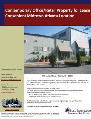 Contemporary Office/Retail Property for Lease ... - Bull Realty