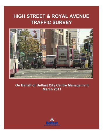 HIGH STREET & ROYAL AVENUE PSNI TRAFFIC SURVEY