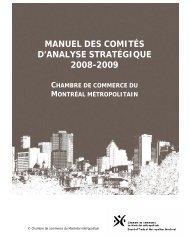 Note d'information - Chambre de commerce du Montréal métropolitain