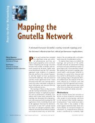 Mapping the Gnutella Network - ResearchGate