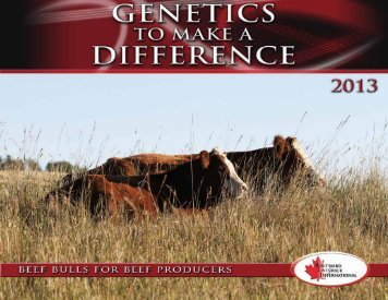 or on the graphic to view PDF - Bouchard Livestock International