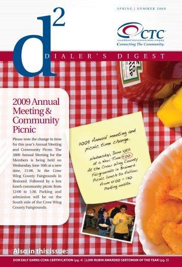 Dialer's Digest Spring Summer 2009 - Ctc