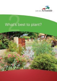 Fact Sheet 2: What's best to plant? (PDF 785 KB)