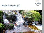 Picture references Pelton turbines - Kössler