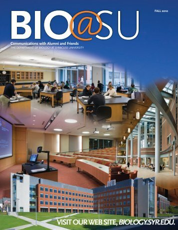 Fall 2010 - the Department of Biology - Syracuse University