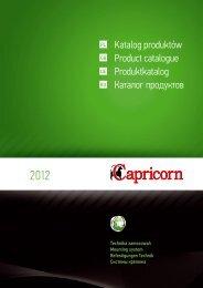 Katalog produktów Product catalogue Produktkatalog ... - Coral Instal