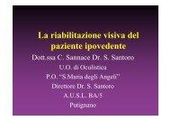 12_La riabilitazione visiva del paziente ipovedente - ABCsalute.it