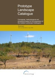 Prototype Landscape Catalogue - Observatori del Paisatge