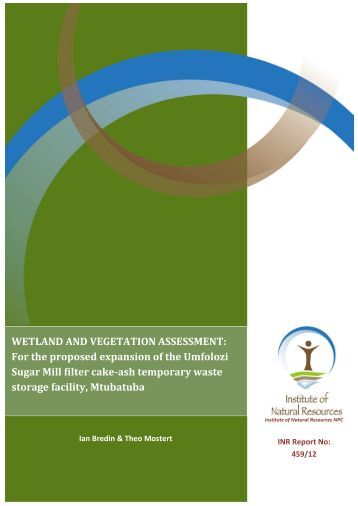 WETLAND DELINEATION REPORT - SRK Consulting
