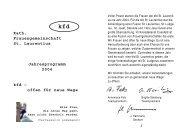 Kath. Frauengemeinschaft St. Laurentius Jahresprogramm 2004 kfd ...