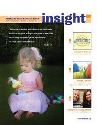 Insight - Riverland Hills Baptist Church