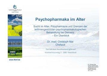 Psychopharmaka im Alter - Fachkliniken Nordfriesland gGmbH