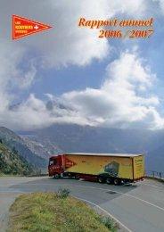 Rapport annuel 2006 / 2007 - Les Routiers Suisses