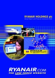 Annual Report 2000 - Ryanair