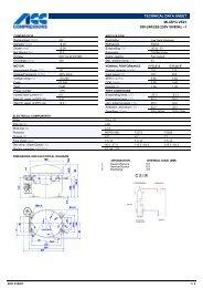 TECHNICAL DATA SHEET ML45FG VE01 200-240/220-230V 50 ...