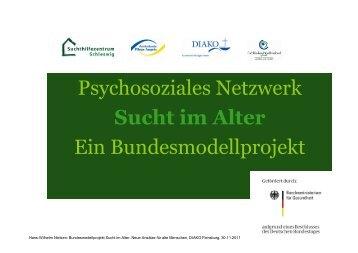Psychosoziales Netzwerk Sucht im Alter - Fachkliniken ...
