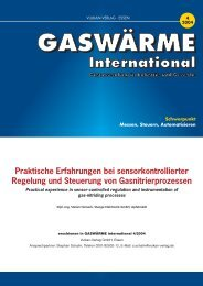 Thema: Praktische Erfahrungen bei sensorkontrollierter Regelung ...