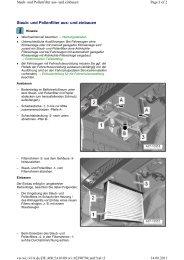 Staub- und Pollenfilter aus- und einbauen - A1talk.de