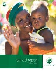 annual report - AVSI-USA