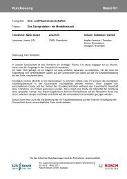 Geo- und Raumwissenschaften (PDF; 127 KB) - Bosch-Career