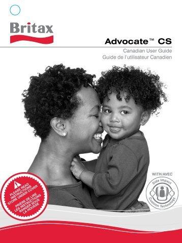 Advocate™ CS - Britax CA
