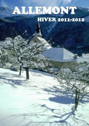 HIVER 2011-2012 - Allemont