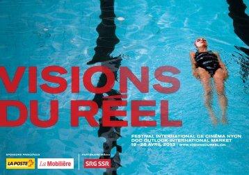 Programme 2013 PDF - Visions du Réel