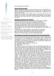 Hour of Power vom 17.03.2013 Begrüßung (Bobby Schuller) Dies ist ...