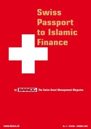 Swiss Passport to Islamic Finance